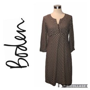 Boden Floral Print  Sleeve Dress Size 12R